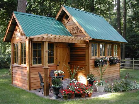 pretty shed pretty garden shed idea in the middle of large garden with