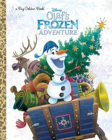 olaf waits for disney frozen golden book books big golden book