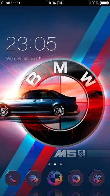 android themes bmw download bmw m5 theme for your android phone clauncher