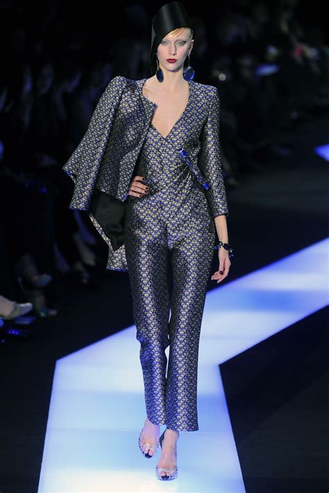 Armani Brings Haute Couture To Masses by Armani S Haute Couture Show At Fashion Week Flare