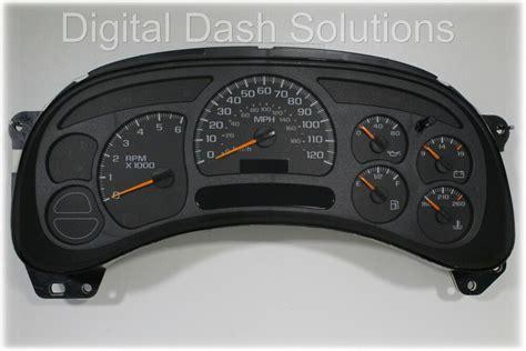 motor repair manual 2003 gmc safari instrument cluster 03 04 buy a complete fully rebuilt gm truck speedometer cluster oem replacement ebay