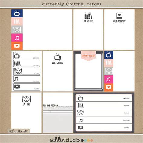 printable digital journal free journal cards currently sahlin studio digital