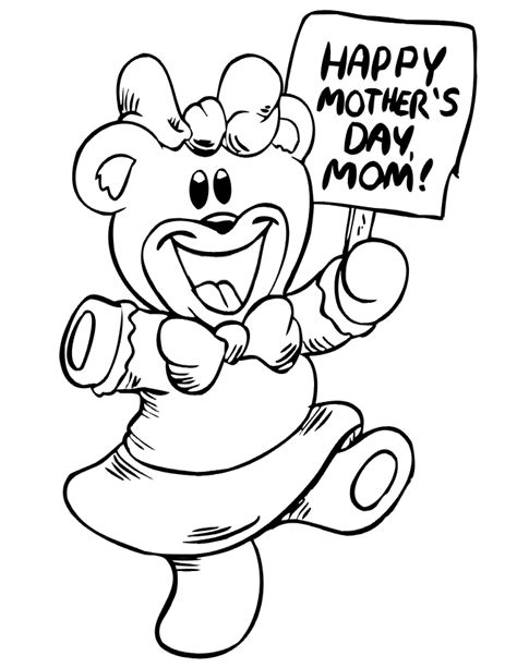 free coloring pages mothers day coloring pages for children