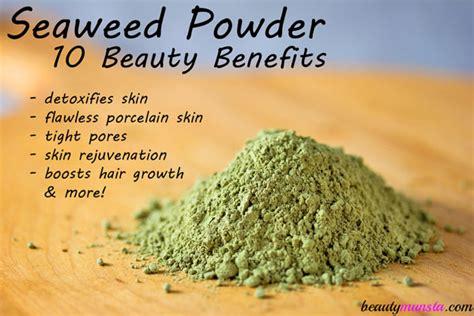 Detox Wrap Ta by 10 Benefits Of Seaweed Powder For Skin Hair