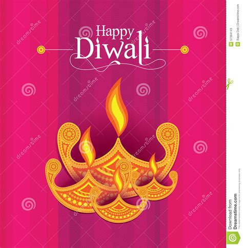 How To Make Paper L For Diwali - vector paper diwali design template stock vector image