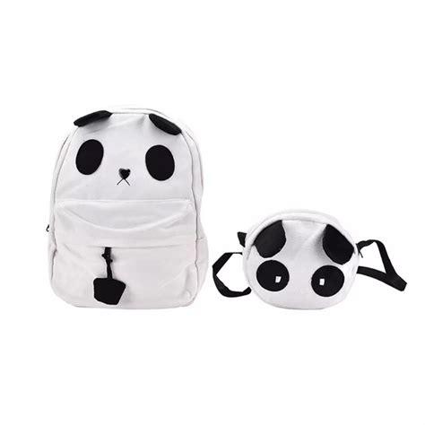 Backpack 4 In 1 Panda http bubbletea panda backpack and handbag set