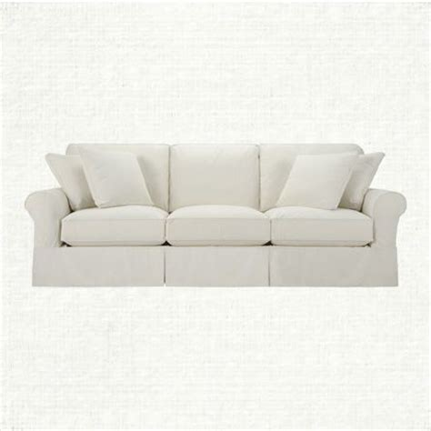 baldwin slipcover view the baldwin slipcovered lux sofa from arhaus you re