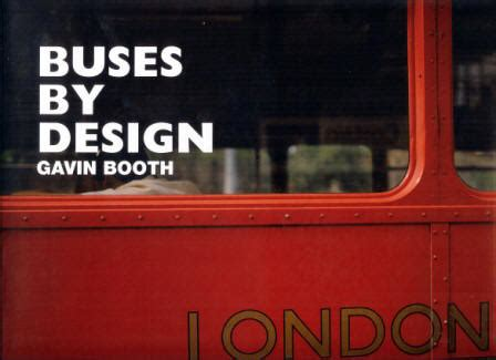 Buses By Design Gavin Booth | model buses books other a b