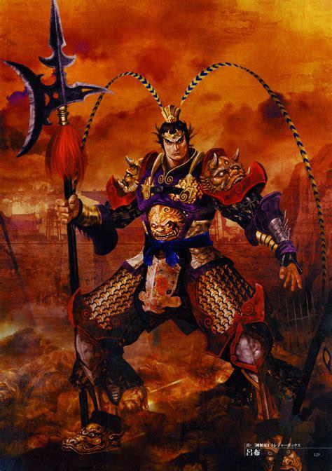 Dynasty Warrior Koei Lubu image dynasty warriors 4 artwork lu bu jpg koei wiki