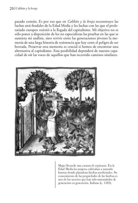 calibn y la bruja caliban y la bruja silvia federici