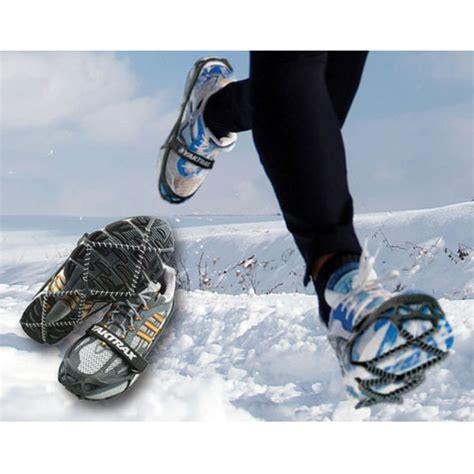 cadenas de nieve frontales cadenas yaktrax pro para zapatos peregrinoteca