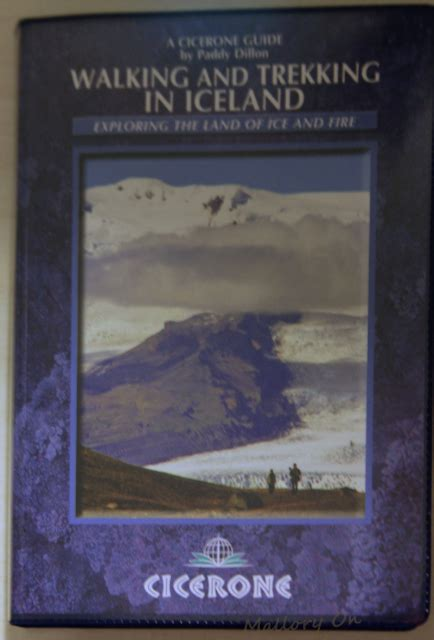 nightblind a thriller the iceland series books a review of the cicerone trekking in iceland guide