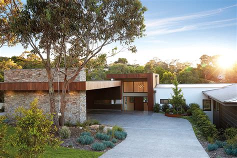 sloping block house designs melbourne building split level homes on a sloping block melbourne
