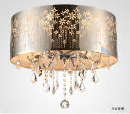 Dining Room Drum Chandelier Aliexpress Com Buy Modern Led K9 Lustre Crystal