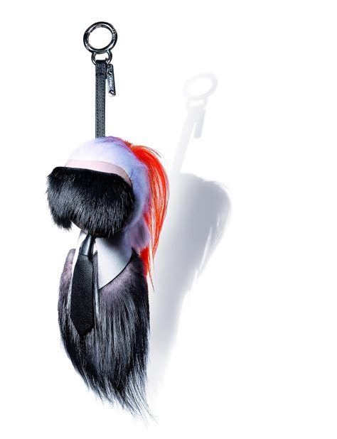 Fendi By The Way Medium With Karlito Charms 7025 most wanted the fendi karlito bag charm s bazaar singapore