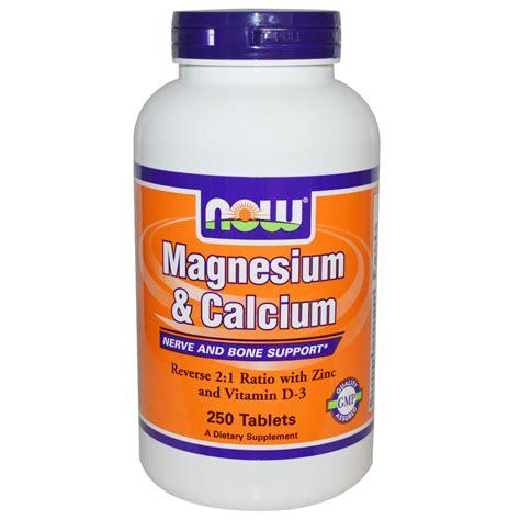 supplement with magnesium calcium supplement with magnesium now foods magnesium