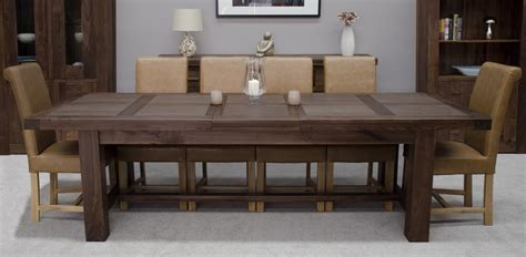 Large Dining Room Table by Kendo Solid Walnut Dining Room Furniture Large