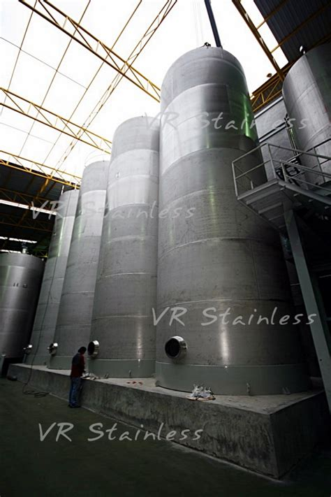 vr stainless storage tank