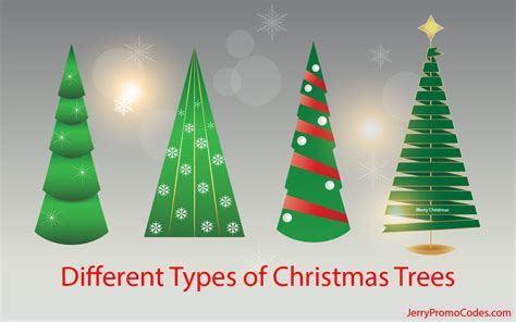 different types of christmas trees