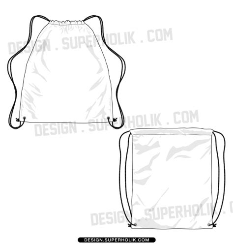 backpack template hellovector home of fashion templates vector