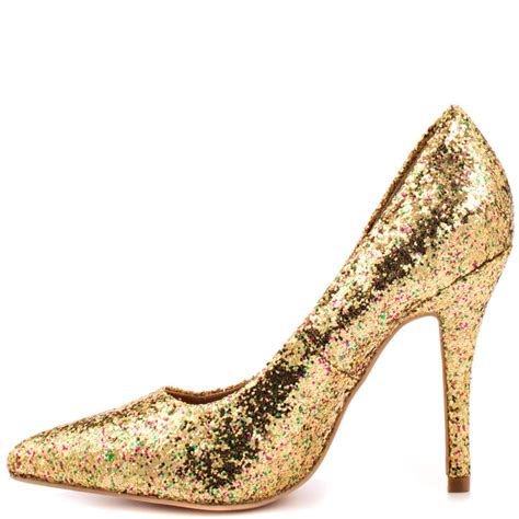 glitter shoes sue gold glitter shoes cishoes