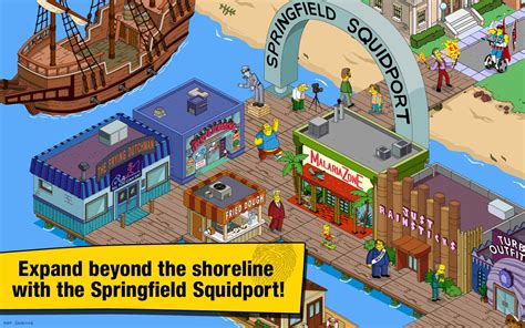 the simpsons apk the simpsons tapped out apk v4 24 1 mod unlimited donuts for android apklevel