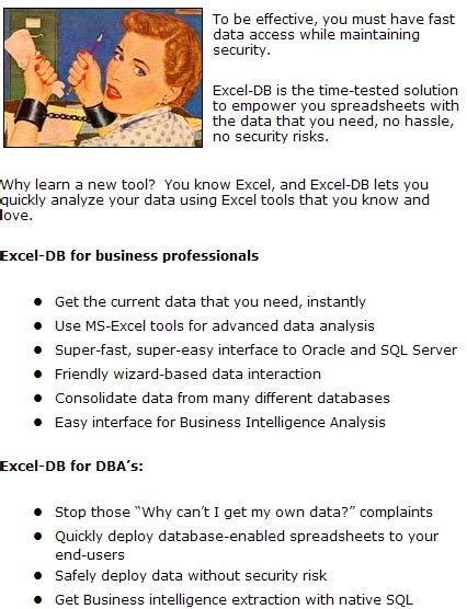 windows data export script burleson oracle consulting excel database connection tool