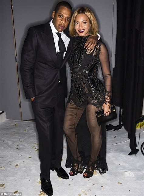 Beyonce Tom Ford Beyonce Coordinates With Z In Black At Tom Ford
