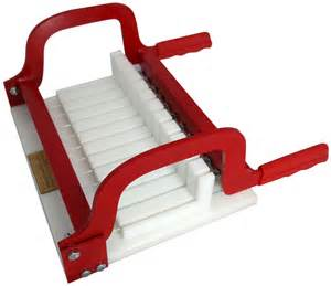 soap cutter long loaf perfectly cuts 1 inch bars essential depot