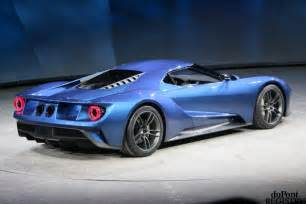 The Ford Gt New 2016 Ford Gt Unveiled