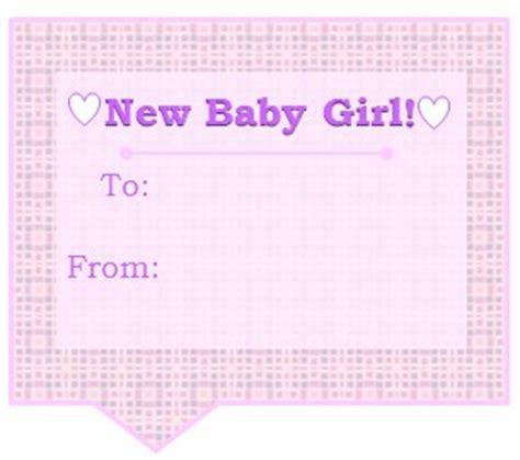 printable baby girl gift tags baby girl free printable gift tag flickr photo sharing
