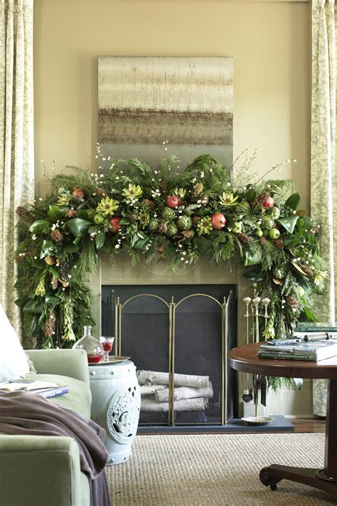 pictures of christmas mantel decorations mantel decorating ideas southern living