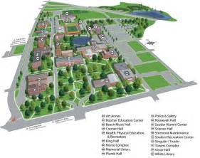 Westfield State University Campus Map by Campus Map Technical University And Map Illustrations On