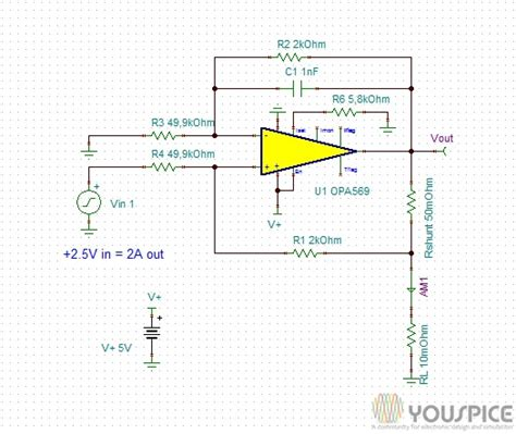 laser diode current driver 2 ere anode grounded laser diode driver as howland current source youspice