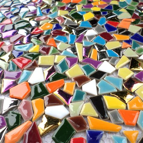 Kitchen Backsplash Panels aliexpress com buy rainbow colorful ceramc mosaic