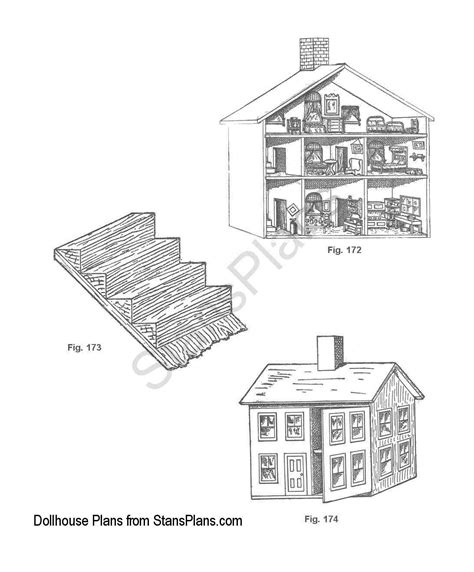 free dollhouse floor plans pdf diy free dollhouse blueprints download free coffee