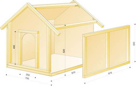 plywood dog house plans diy dog house handyman tips