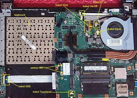 Ganti Kipas Laptop Asus cara membongkar laptop asus a46c ilmu technology
