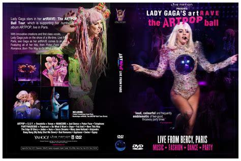 Dvd Import Gaga Tour gaga s artrave the artpop dvd cover by xsneakernight on deviantart