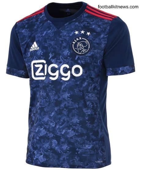 blue ajax away jersey 2017 18 adidas afc ajax alternate kit 17 18 football kit news new