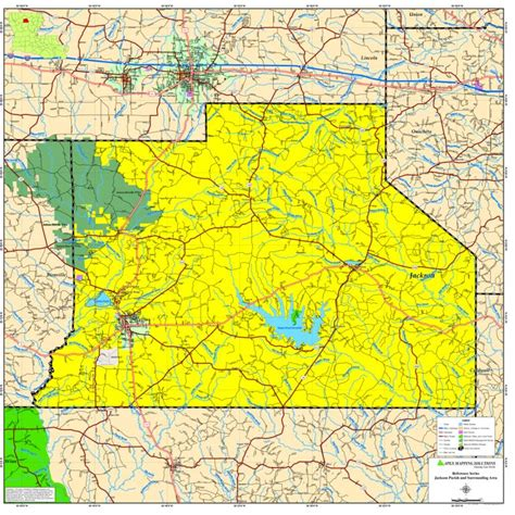 jackson louisiana map jackson parish map