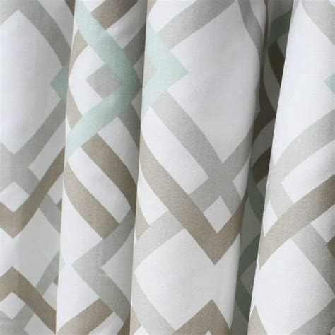 gray and white geometric curtains 25 best ideas about geometric curtains on pinterest