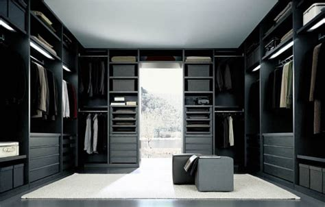 modern closet senzafine extremely flexible walk in closet system by