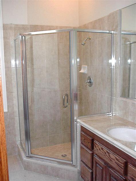 swinging glass shower door glass showers gallery glass doctor
