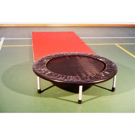 tappeto ginnastica mini trolino elastico rotondo per ginnastica artistica