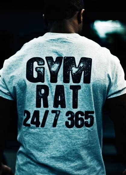 gym rat fitness quotes img