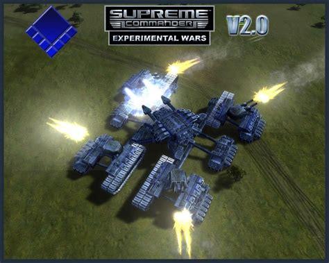 Supreme Commander by Experimental Wars V2 0 Supreme Commander Forged