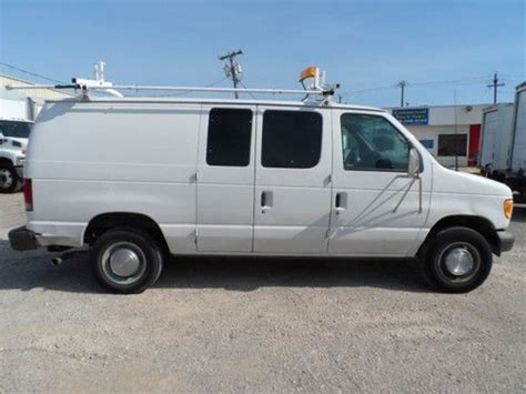 how things work cars 2002 ford econoline e250 seat position control buy used 2002 ford e 250 econoline base standard cargo van 2 door 5 4l in irving united states