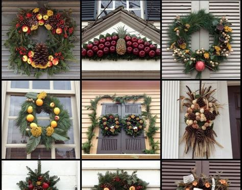 colonial williamsburg christmas lights decorations colonial williamsburg ideas decorating