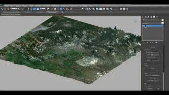 Landscape Design Software Earth Creating A Highly Detailed 3d Terrain In 3ds Max With